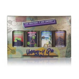 That Boutique-Y Gin Company 4 X Unique Flavoured Gin Gift Set Gin 50ml