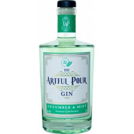 The Artful Pour Cucumber & Mint Gin