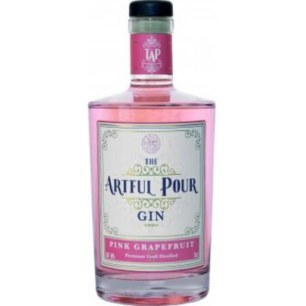 The Artful Pour Pink Grapefruit Gin
