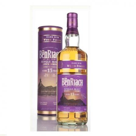 The Benriach 15 Years Dark Rum Finished