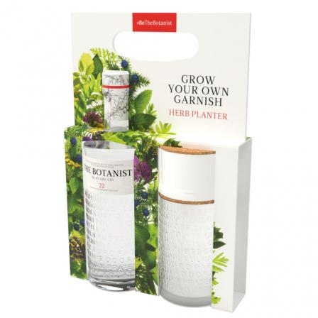 The Botanist Gin 70cl Herb Planter Gift