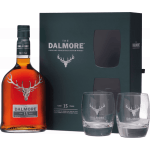 The Dalmore 15 Años Single Malt + 2 Tumbler