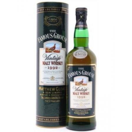 The Famous Grouse Vintage 1992