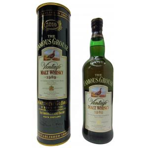 The Famous Grouse Vintage Malt 12 Years 1989