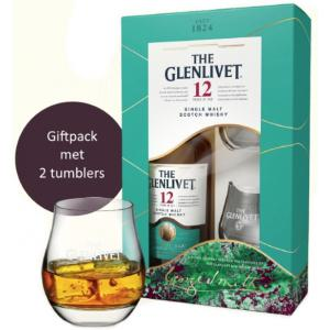 The Glenlivet 12 Ans Giftpack With Two Tumblers