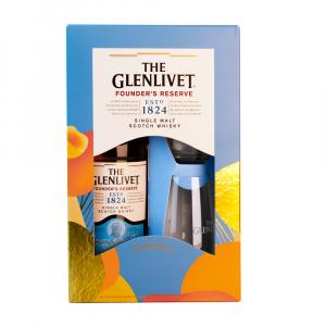 The Glenlivet Founders Reserve Whisky 70cl Gift