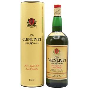 The Glenlivet Pure Old Bottling 12 Year old 1L