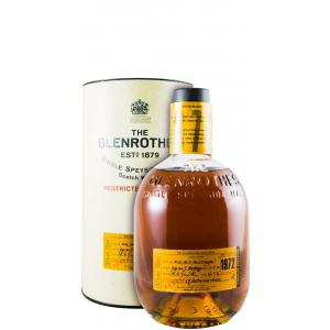 The Glenrothes Restricted Release Bottled In 1996 1972