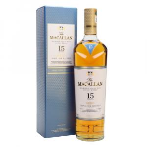 The Macallan 15 Años Triple Cask Estuche