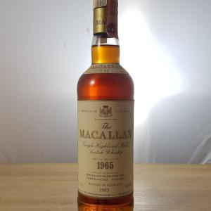 The Macallan 17 Year old 75cl 1965