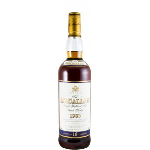 The Macallan 18 Anni Sherry Cask 1983