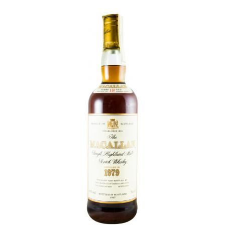 The Macallan 18 Anni Sherry Cask Bottled In 1997 1979