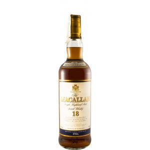 The Macallan 18 Anos 1986