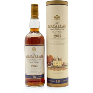The Macallan 18 Anos 75cl 1982