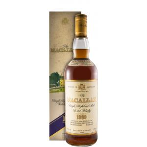 The Macallan 18 Anos Bottled In 1998 75cl 1980