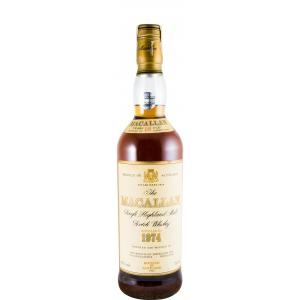 The Macallan 18 Años Sherry Cask Bottled In 1992 1974
