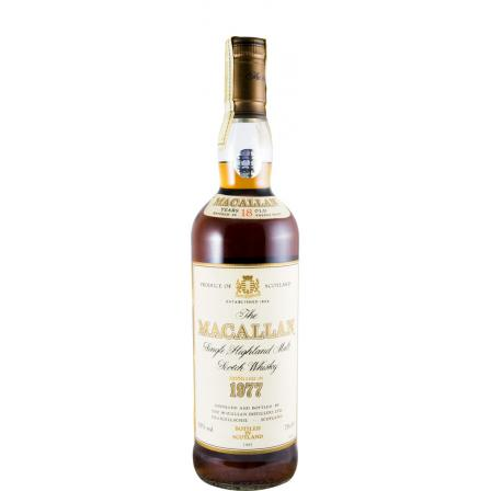 The Macallan 18 Años Sherry Cask Bottled In 1995 1977