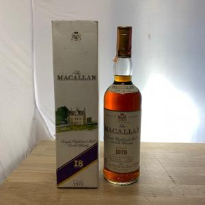 THE Macallan 18 Ans 75cl 1970