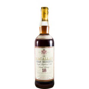The Macallan 18 Ans Gran Reserva Sherry Cask Bottled In 1997 1979