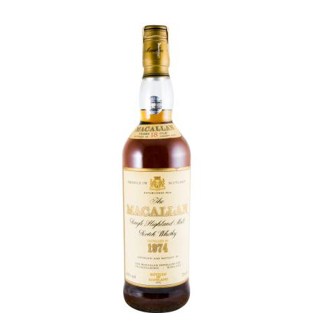 The Macallan 18 Anys Sherry Cask Bottled In 1992 1974