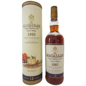 The Macallan 18 Year old 75cl 1983