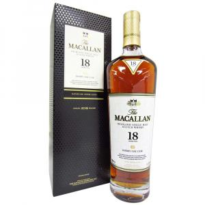 The Macallan 18 Years Sherry Oak 2018
