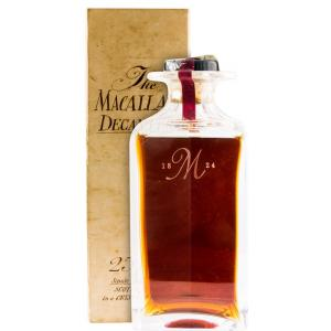 The Macallan 25 Años Tudor Decanter 75cl