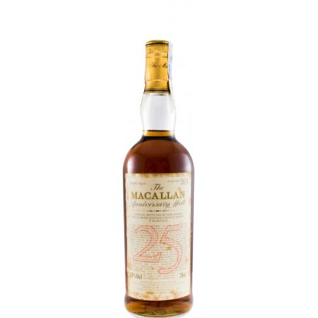 The Macallan 25th Anniversary 75cl 1966