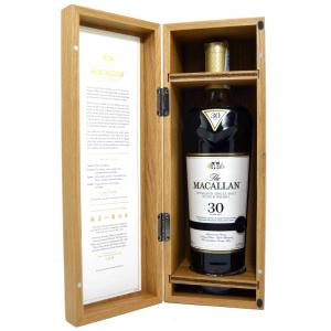 The Macallan 30 Anos Years Old