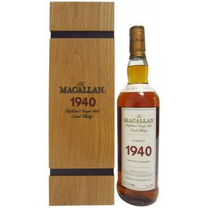 The Macallan 35 Years 1940