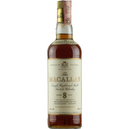 The Macallan 8 Jahre Rinaldi Import 70's