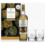 The Macallan Amber & 1 X Glass 1x Glass Water Jug Gift Set