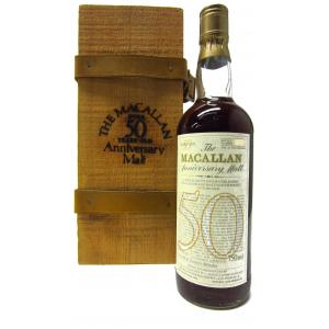 The Macallan Anniversary Malt 50 Year old 75cl 1928
