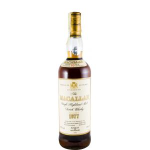 The Macallan Bottled In 1996 1977