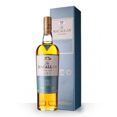 The Macallan Fine Oak Etui 15 Ans