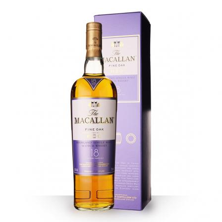 The Macallan Fine Oak Etui 18 Ans
