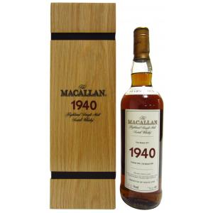 The Macallan Fine & Rare 37 Year old 1940