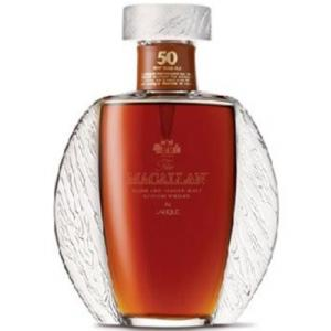The Macallan Lalique 50 Years