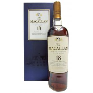 The Macallan Light Maghony Sherry Oak 18 Years 1988