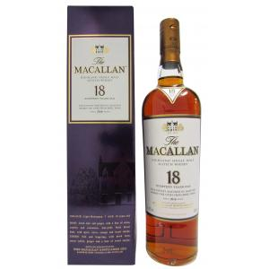 The Macallan Light Maghony Sherry Oak Annual Release 18 Years
