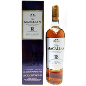 The Macallan Light Mahogany Sherry Oak 18 Year old 1995