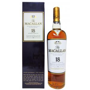The Macallan Light Mahogany Sherry Oak 18 Year old 1996