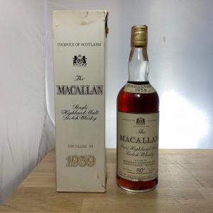THE Macallan Pure Highland Malt 75cl 1959
