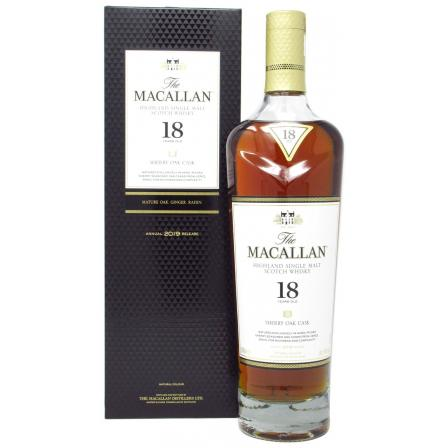 The Macallan Sherry Oak Edition 18 Jahre 2019