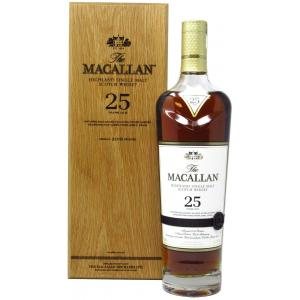 The Macallan Sherry Oak Release 25 Anos 2019