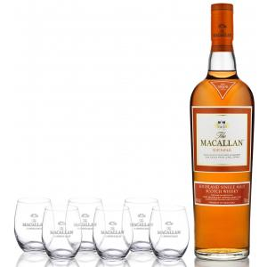 The Macallan Sienna + 6 Vasos