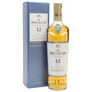 The Macallan The Macallan The Macallan Highland 12 Years Triple Cask con Case