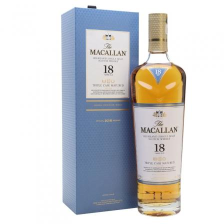The Macallan Triple Cask 18 Ans