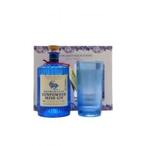 The Shed Distillery Drumshanbo Gunpowder Glas Pack Gin 50cl