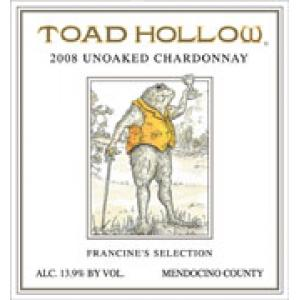 Toad Hollow Chardonnay 2008